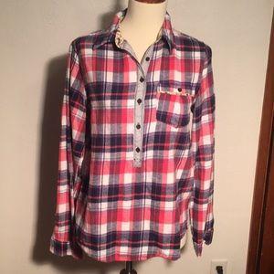 Tops - Flannel size medium juniors.. no flaws